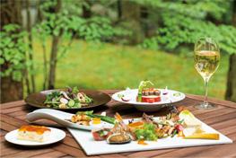 洋風の料理写真