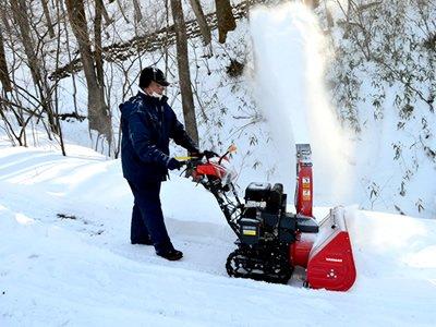 冬・除雪作業の画像